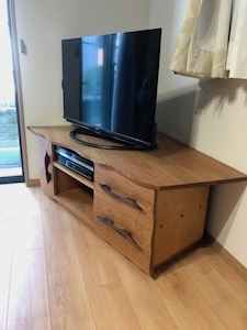 チェリー材TVボード