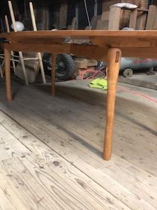 チェリー無垢の家具
