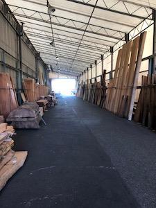 木材競り市