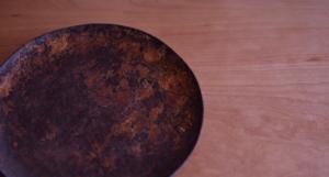 漆,木のお皿