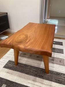 オーダーテーブル 無垢 欅