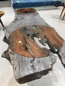 欅ローテーブル